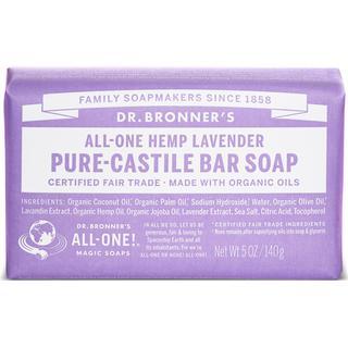 Dr. Bronners Pure Castile Bar Soap Lavender 140g