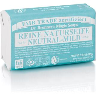 Dr. Bronners Pure Castile Bar Soap Baby Unscented 140g
