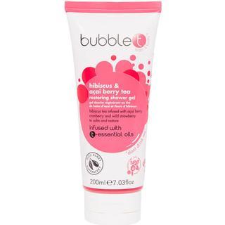 Bubble T Hibiscus & Acai Berry Tea Restoring Shower Gel 200ml