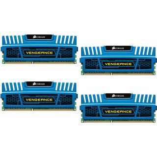 Corsair Vengeance Blue DDR3 1600MHz 4x4GB (CMZ16GX3M4A1600C9B)