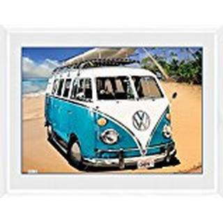 GB Eye VW Camper Camper 30x40cm Framed art