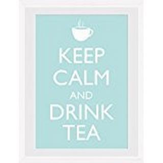 GB Eye Keep Calm & Drink Tea 30x40cm Framed art