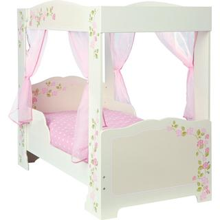 Worlds Apart Hello Home Rose 4 Poster Toddler Bed