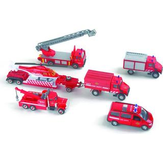 Legler Play Set Fire Brigade Vehicles