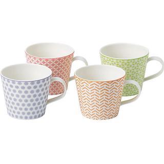 Royal Doulton Pastels Accent Cup 36.5 cl 4 pcs
