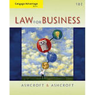 Cengage Advantage Books: Law for Business (Häftad, 2013), Häftad