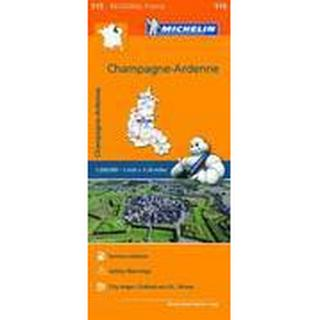 Champagne Ardenne Map 515 (, 2016)