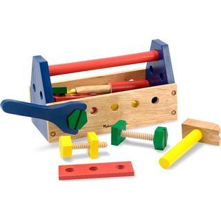 Melissa & Doug Take Along Tool Kit Wooden Toy
