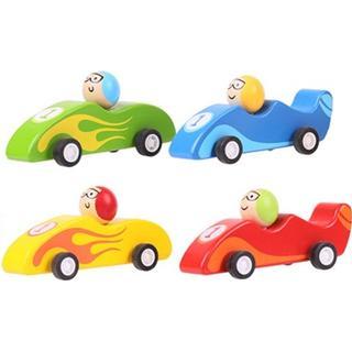 Bigjigs Pull Back Racing Car
