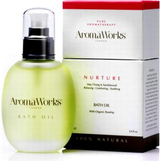Bath and Unwind AromaWorks Nurture Bath Oil 100ml