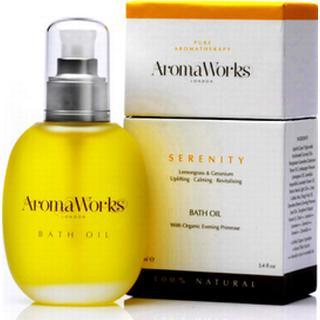 Bath and Unwind AromaWorks Serenity Bath Oil 100ml