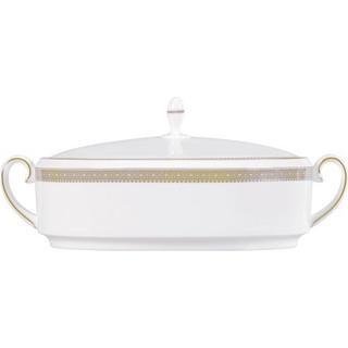 Wedgwood Vera Wang Lace Gold Serving Bowl