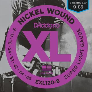 D'Addario EXL120-8