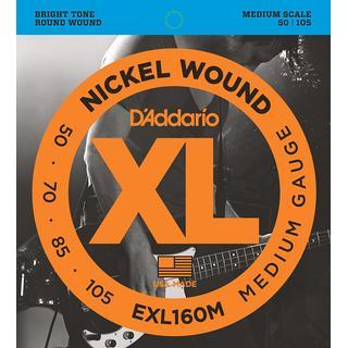 D'Addario EXL160M