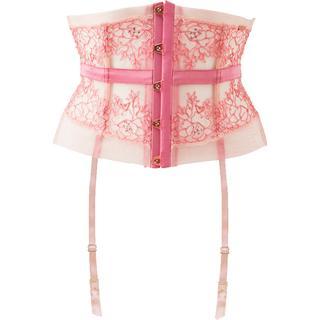 Gossard Radiance Waspie Suspender - Pink
