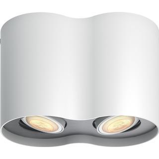 Philips Hue Pillar 2 Spot Ceiling Flush Light