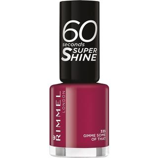 Rimmel 60 Seconds Super Shine Nail Polish Gimme Some of That 8ml