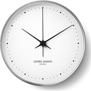 Georg Jensen Koppel Stainless Steel 30cm Wall clock