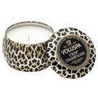 Voluspa Crisp Champagne Petit Tin Scented Candles