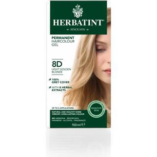 Herbatint Permanent Herbal Hair Colour 8D Lightgolden Blonde