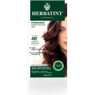 Herbatint Permanent Herbal Hair Colour 4R Copper Chestnut