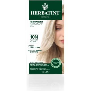 Herbatint Permanent Herbal Hair Colour 10N Platinum Blonde