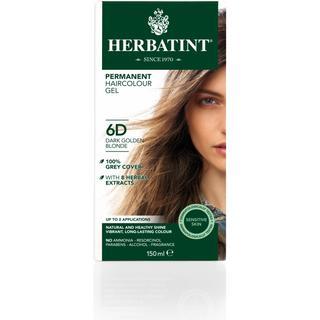 Herbatint Permanent Herbal Hair Colour 6D Dark Golden Blonde