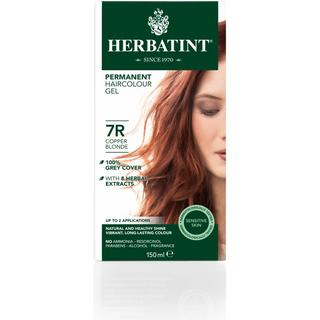 Herbatint Permanent Herbal Hair Colour 7R Copper Blonde