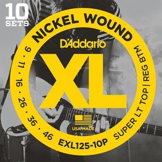 D'Addario EXL125-10P