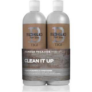 Tigi Bed Head for Men Clean Up Duo 2x750ml