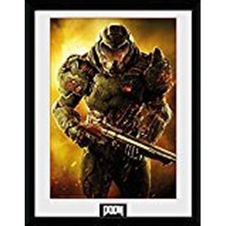 GB Eye Doom Marine 30x40cm Poster