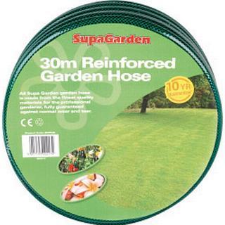 SupaGarden Reinforced Garden Hose 30m 4pack