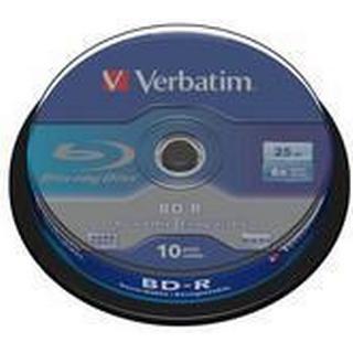 Verbatim BD-R 25GB 6x Spindle 10-Pack