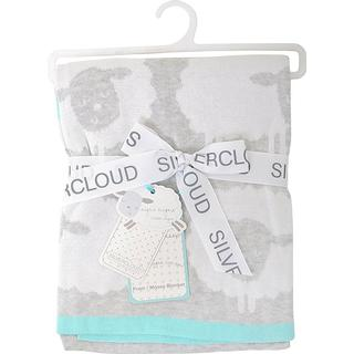 Silvercloud Nursery Counting Sheep Pram / Moses Blanket