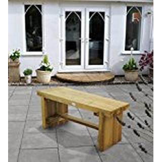 Forest Garden Double Sleeper 1.2m Garden Bench