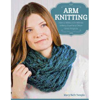 arm knitting how to make a 30 minute infinity scarf and other great project