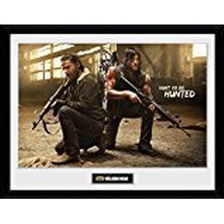 GB Eye The Walking Dead Rick & Daryl Hunt 30x40cm Art