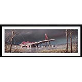 GB Eye Fallout 4 Red Rocket 30x75cm Framed art