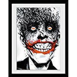 GB Eye Batman Comic Joker 30x40cm Framed art