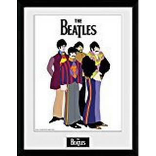 GB Eye The Beatles Yellow Submarine Group 30x40cm Framed art