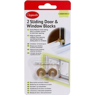 Clippasafe Sliding Window & Door Blocks