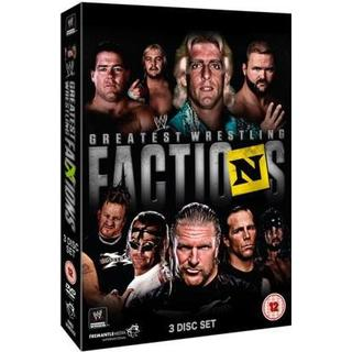 WWE Presents Greatest Wrestling Factions (3DVD) (DVD 2015)