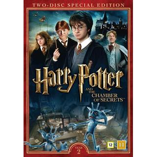 Harry Potter 2 + Dokumentär (2DVD) (DVD 2016)