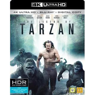 Legenden om Tarzan (4K Ultra HD + Blu-ray) (Unknown 2016)