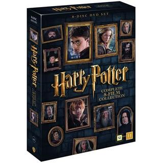 Harry Potter 1-8: Slimbox + karta & booklet (8DVD) (DVD 2016)