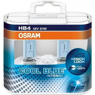 Osram HB4 9006CBI Halogen Lamps 51W 2-pack