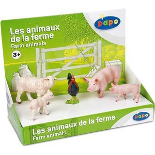 Papo Display Box Farm Animals 80300