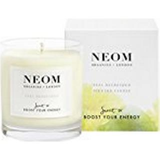 Neom Organics Feel Refreshed Scented Candle Sicilian Lemon & Fresh Basil 185g