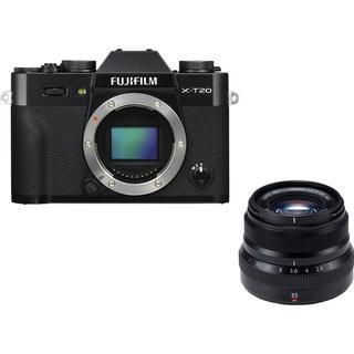 Fujifilm X-T20 +XF 35mm F2 R WR