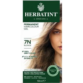 Herbatint Permanent Herbal Hair Colour 7N Blonde 150ml